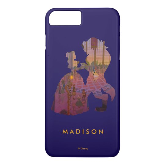 Beauty & The Beast   Silouette Dancing iPhone 8 Plus/7 Plus Case