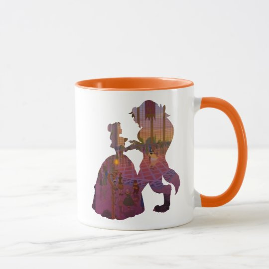 Beauty & The Beast | Silouette Dancing Mug