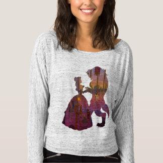 Beauty & The Beast   Silouette Dancing T-shirt