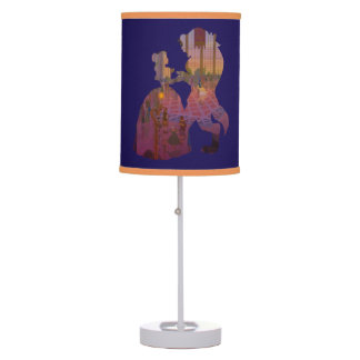 Beauty & The Beast | Silouette Dancing Table Lamp
