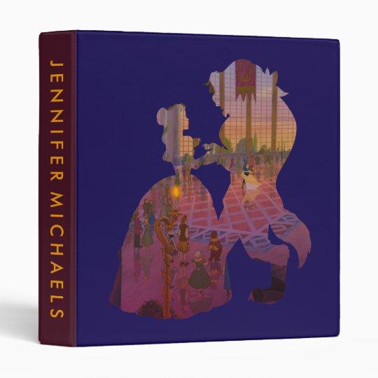 Beauty & The Beast | Silouette Dancing Vinyl Binder