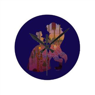 Beauty & The Beast | Silouette Dancing Wall Clock