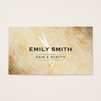 Beauty | Vintage (Pricing Card) Business Card