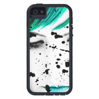 Beauty Woman Close Up Artistic Portrait iPhone 5 Cases