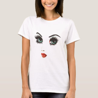 Beauty woman face T-Shirt