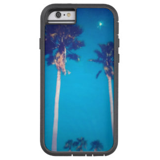 BEAUTYFUL FLORIDA PALM TREES AND BLUE SKY TOUGH XTREME iPhone 6 CASE