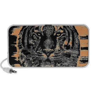 Beaux-arts 2 de tigre - haut-parleurs de griffonna