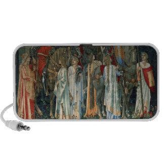 Beaux-arts classiques haut-parleurs ordinateur portable