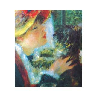 Beaux-arts d impressionisme de Renoir de fille et Toiles Tendues