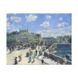 Beaux-arts d'Auguste Renoir Pont Neuf Toile Tendue