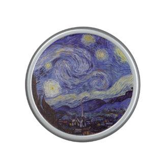 Beaux-arts de cru de nuit étoilée de Vincent van Haut-parleur