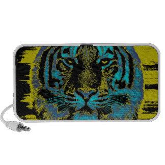Beaux-arts de tigre - orateurs de griffonnage haut-parleur iPhone
