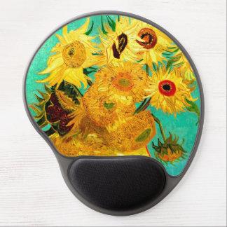 Beaux-arts vintages des tournesols de Van Gogh Tapis De Souris Gel