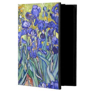 Beaux-arts vintages floraux d'iris de Vincent van