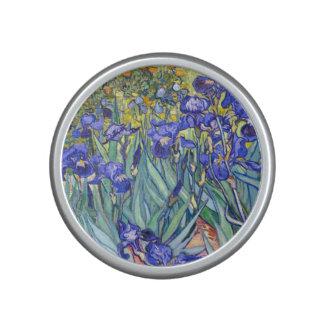 Beaux-arts vintages floraux d'iris de Vincent van Haut-parleur