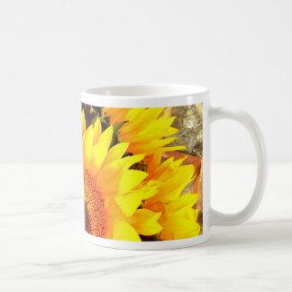 Beaux cadeaux de bouquet de tournesol mugs