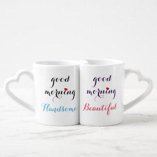 Beaux couples beaux bonjour ses et sien mugs amoureux