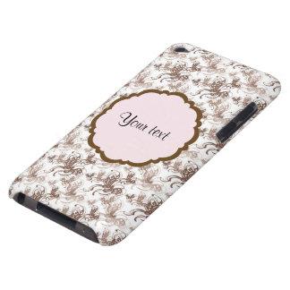 Beaux papillons tourbillonnants de Brown Coque iPod Touch Case-Mate