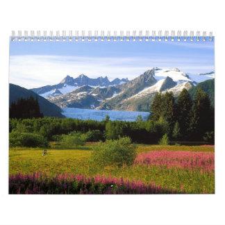 Beaux paysages du calendrier 2012 du monde