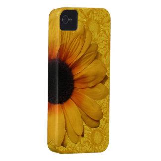 Beaux tournesols jaunes coque Case-Mate iPhone 4