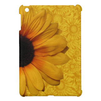 Beaux tournesols jaunes coque iPad mini