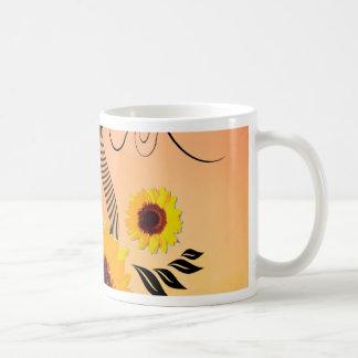 Beaux tournesols mug