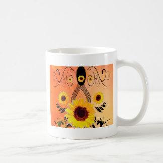 Beaux tournesols mugs à café
