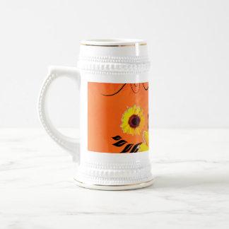 Beaux tournesols tasse à café