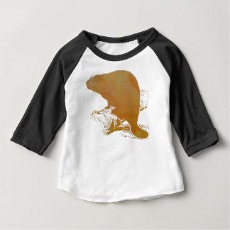Beaver Art Baby T-Shirt