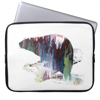 Beaver Art Laptop Sleeve