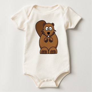 Beaver Baby Bodysuit