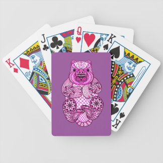 Beaver Bicycle Playing Cards