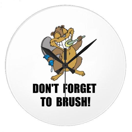 Beaver Brush Wall Clocks