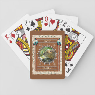 Beaver -Builder- Classic Playing Cards