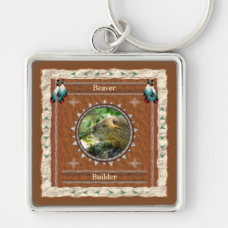 Beaver -Builder- Key Chain