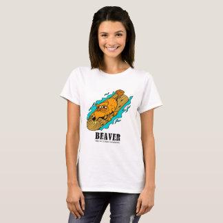 Beaver by Lorenzo Women's T-Shirt
