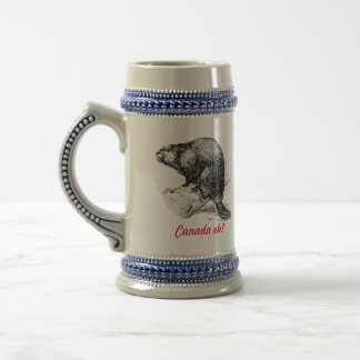 Beaver Canada eh?  Lighthouse Route Beer Stein