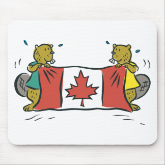 Beaver Canada Mouse Pad