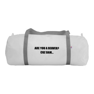 Beaver Cuz Dam Gym Bag