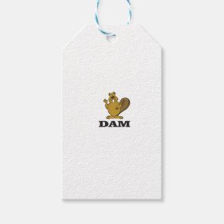 beaver dam gift tags