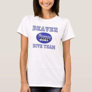 Beaver Dive Team Lez T-Shirt
