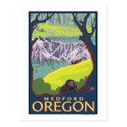 Beaver Family - Medford, Oregon Postcard