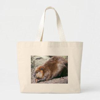 Beaver Large Tote Bag