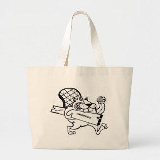 beaver  move large tote bag