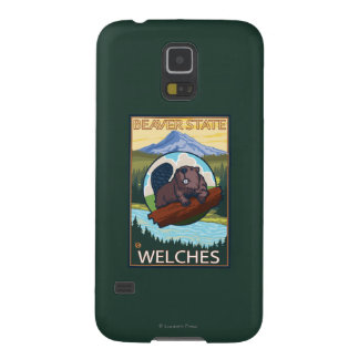 Beaver & Mt. Hood - Welches, Oregon Galaxy S5 Cases