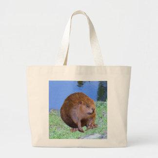 Beaver (Oregon New York) 2 Z .jpg Large Tote Bag