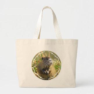 Beaver Photo Canvas Bag