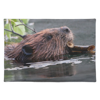 beaver placemat