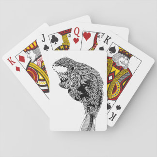 Beaver Playing Cards