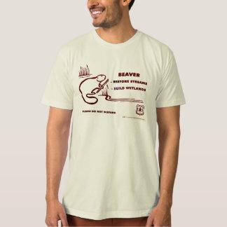 Beaver Restore Streams T-Shirt